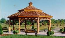 Photo of a Gazebo in Brooklin, Ontario