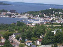 Photo of Parry Sound, Ontario form above
