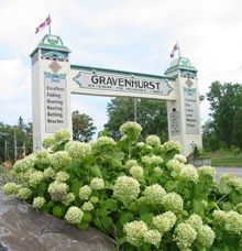 A Photo of the Gravenhurst, Ontario Arch