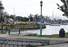 Photo of the Marina in Newcastle, Ontario