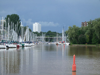 A Photo of a Harbour in Oakville, Ontario